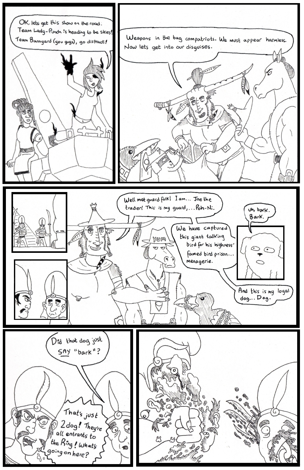this round also has the highest bodycount by far of all my tourney comics